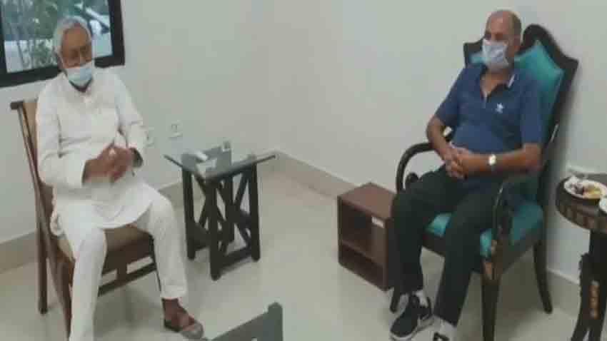 Sushant Singh Rajput Father KK Singh Meets Bihar Chief Minister Nitish Kumar