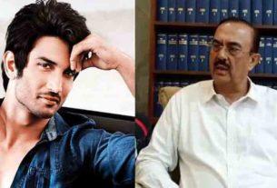 Sushant Singh rajput family lawyer vikas singh