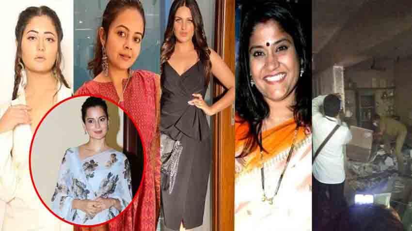 kangana ranaut bollywood news mumbai bmc demolished her office