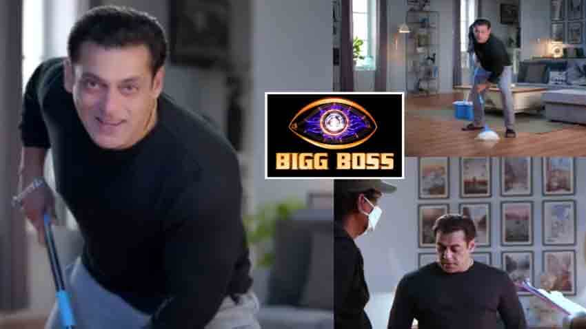 salman khan bigg boss season 14 BTS shoot