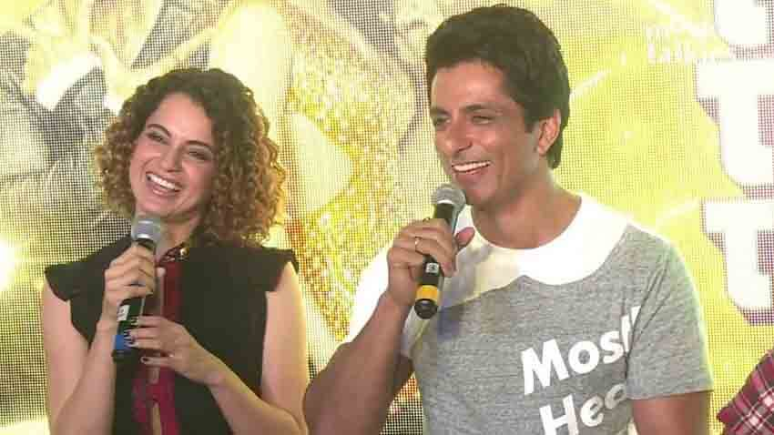 sonu sood reveals why he walked out of Kangana Ranaut film Manikarnika