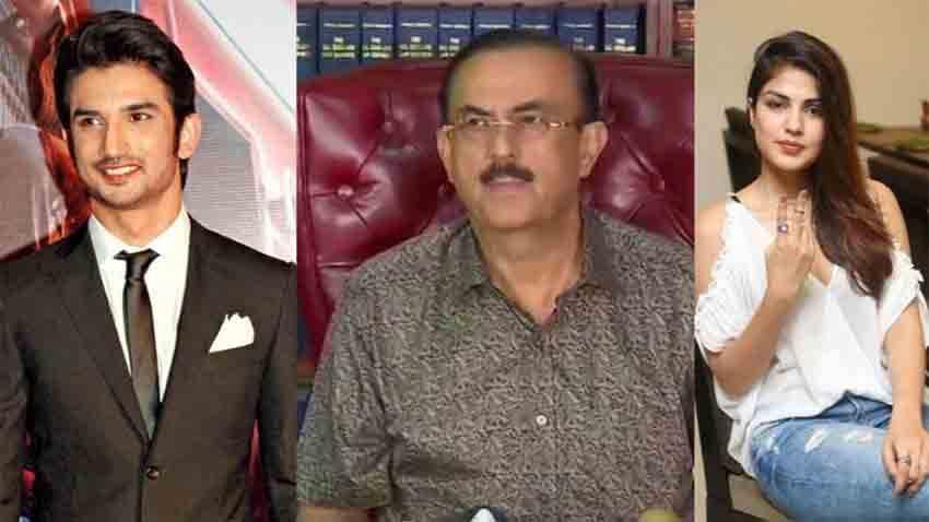 sushant singh rajput lawyer vikash singh rhea chakraborty