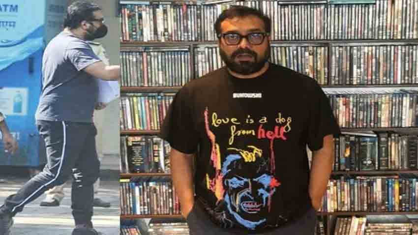 Anurag Kashyap Arrives At Versova Police Station For Questioning