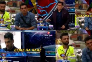 Bigg Boss 14 Weekend Ka Vaar Salman Khan Eijaz Khan Sidharth Shukla