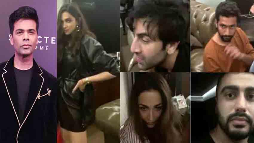 NCB Karan Johar Viral party video