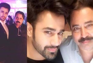 Pearl V Puri with father Vipin V Puri