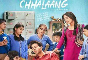 Rajkummar Rao, Nushrat Bharucha film Chhalaang