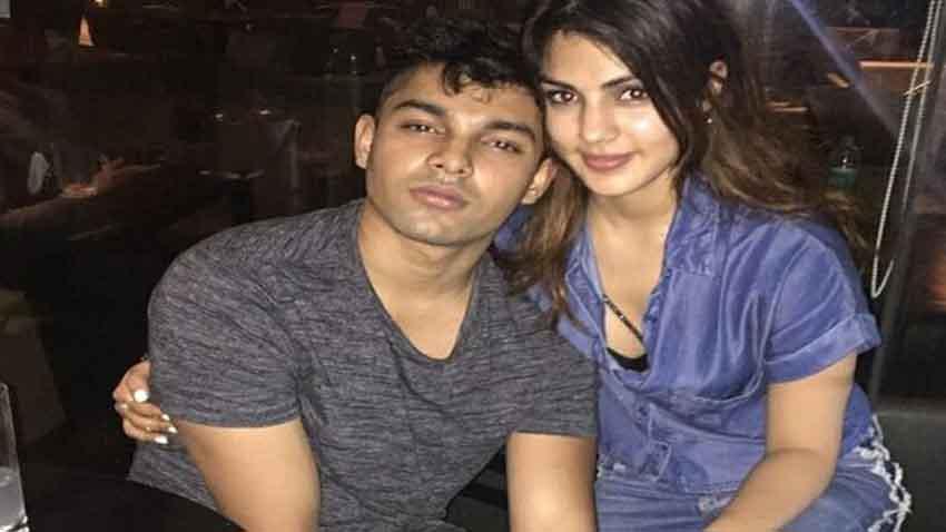 Rhea Chakraborty and Showik Chakraborty