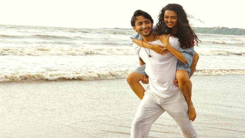 Shaheer Sheikh Tejasswi Prakash music video