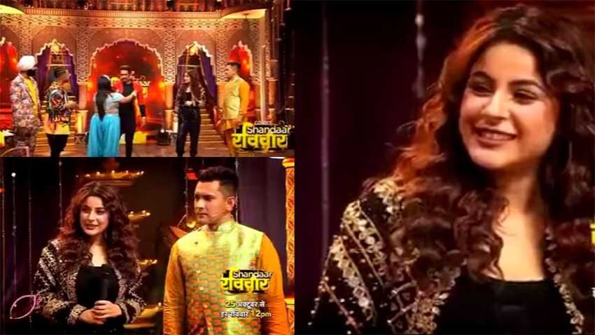 Shehnaaz Gill performance on colors show Shandaar Ravivaar