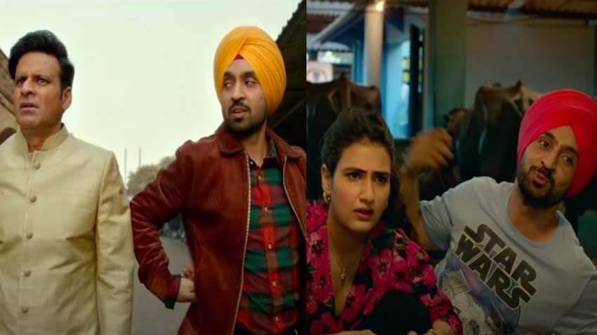 Suraj Pe Mangal Bhari movie Diljit Dosanjh Fatima Sana Shaikh Manoj Bajpayee