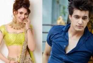 Urvashi Rautela Mohsin Khan together music video