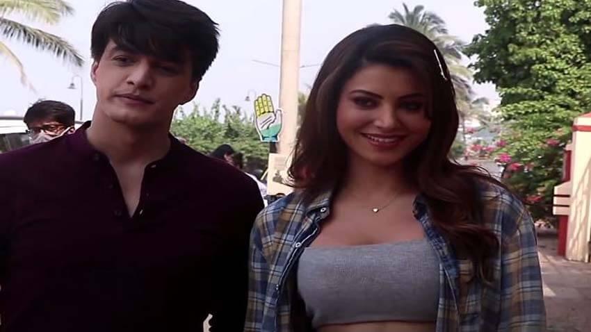 Urvashi Rautela and Mohsin Khan