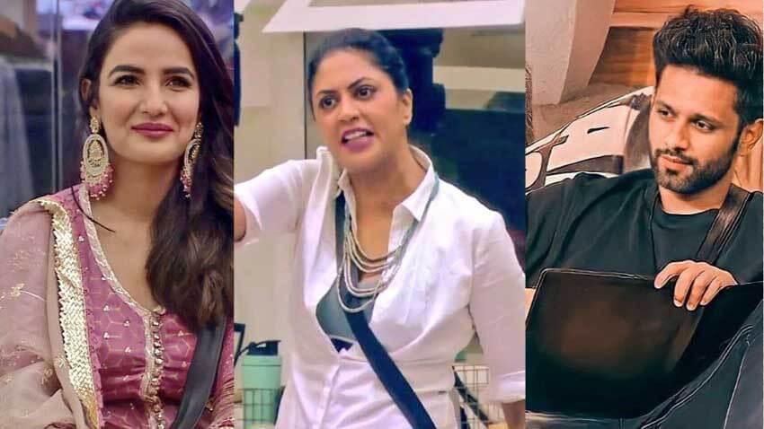 Bigg Boss 14 Jasmin Kavita Rahul