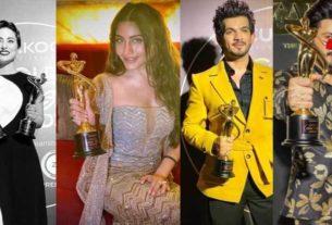 Gold Awards 2020 Hina Khan Surbhi chandna arjun bijlani dheeraj