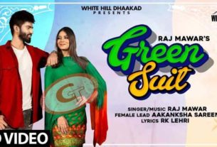 Green Suit Raj Mawar Aakanksha Sareen