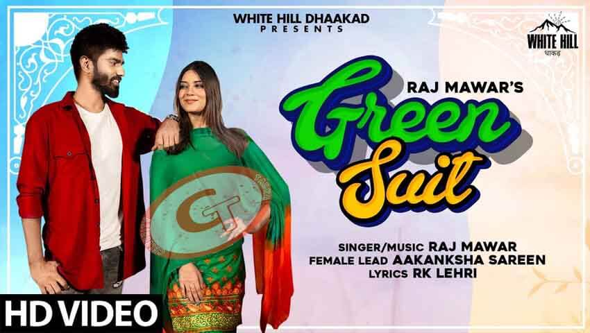Green Suit Raj Mawar Aakanksha Sareen