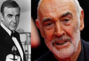 James Bond actor Sean Connery