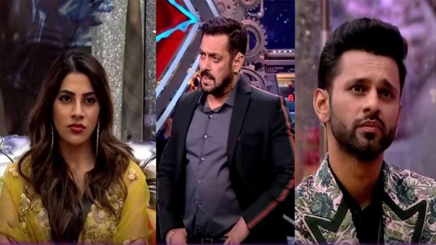 Nikki Tamboli Salman khan rahul vaidya bigg boss 14