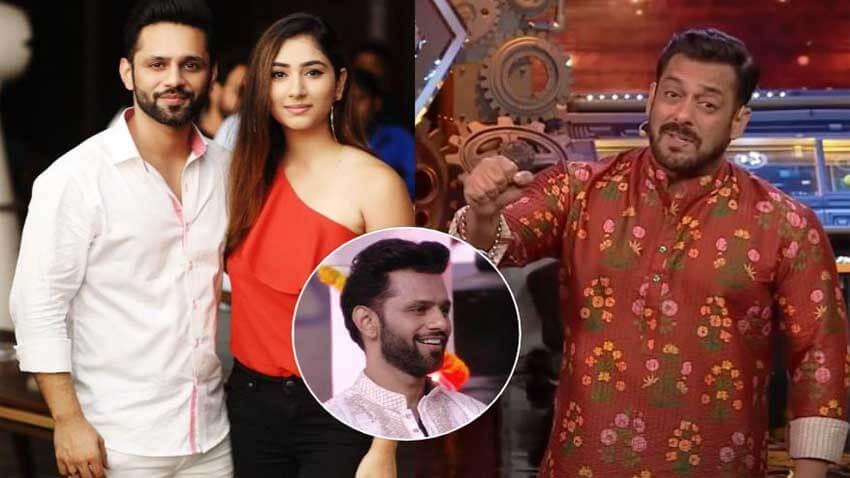 Salman Khan rahul vaidya disha parmar