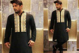 Sidharth Shukla in Manish Malhotra outfit
