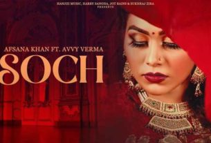 Soch Avvy Verma Afsana Khan