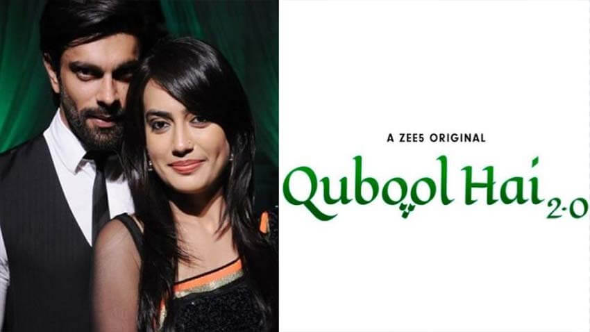 Surbhi Jyoti and Karan Singh Grover qubool hai