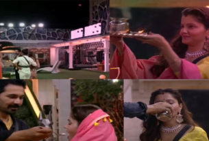 bigg boss 14 karwa chauth rubina dilaik abhinav shukla