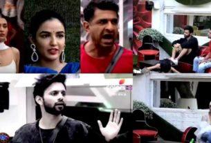 bigg boss 14 nominations rubina rahul eijaz jasmin