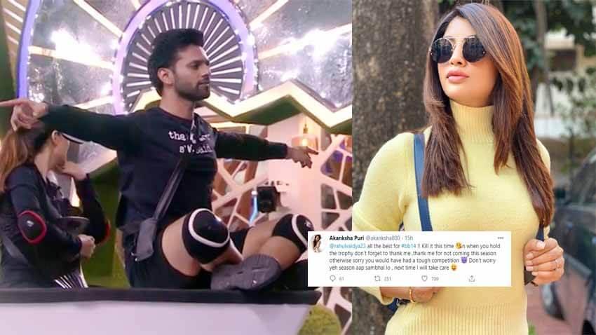 Akanksha Puri rahul vaidya bigg boss 14