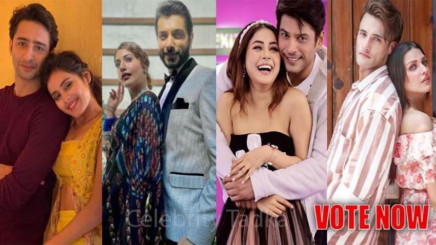 Best TV jodi 2020 Shaheer Sidharth Shehnaaz Asim