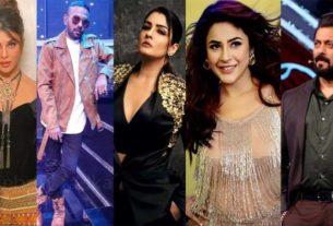 Bigg Boss 14 Salman Khan shehnaaz raveena tandon Jacqueline Fernandes Dharmesh Yelande