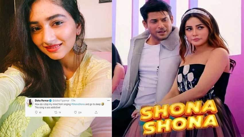 Disha Parmar sidharth shehnaaz music video shona shona