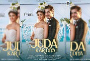 Erica Fernandes Harshad Chopda music video Juda Kar Diya
