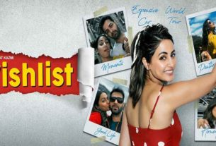 Hina Khan film wishlist