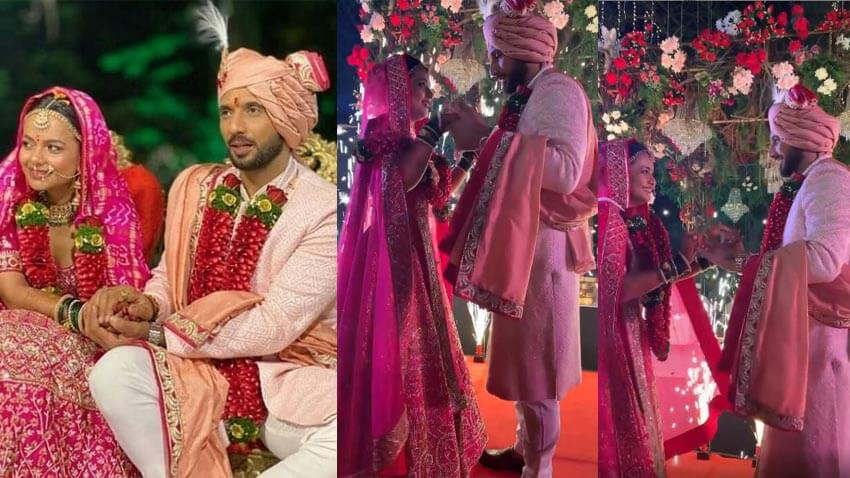 Punit J Pathak get married to Nidhi Moony Singh