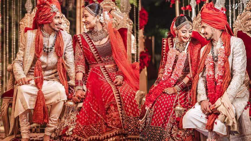 Yuzvendra Chahal marries Dhanashree Verma