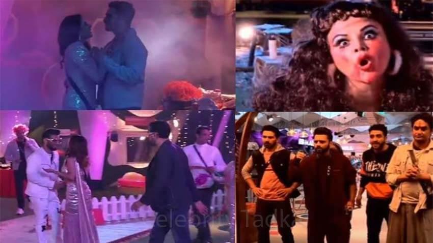bigg boss 14 Rakhi sawant aly goni new year party