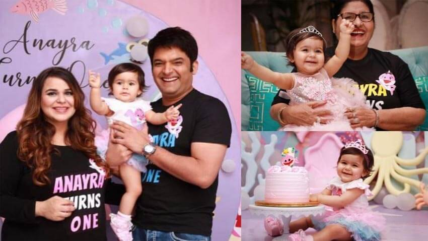kapil sharma daughter Anayra