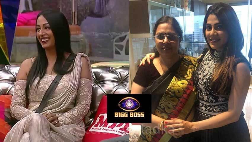 nikki tamboli mother kashmera shah bigg boss 14