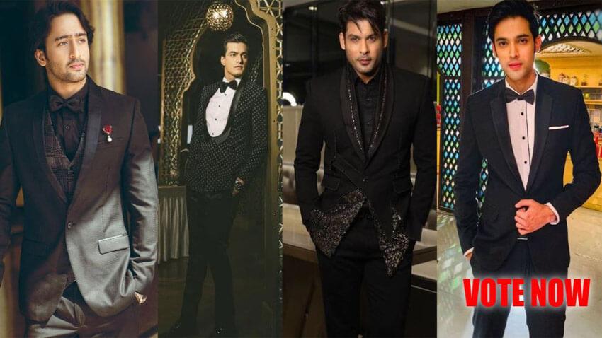 shaheer sheikh sidharth shukla mohsin khan in black outfit