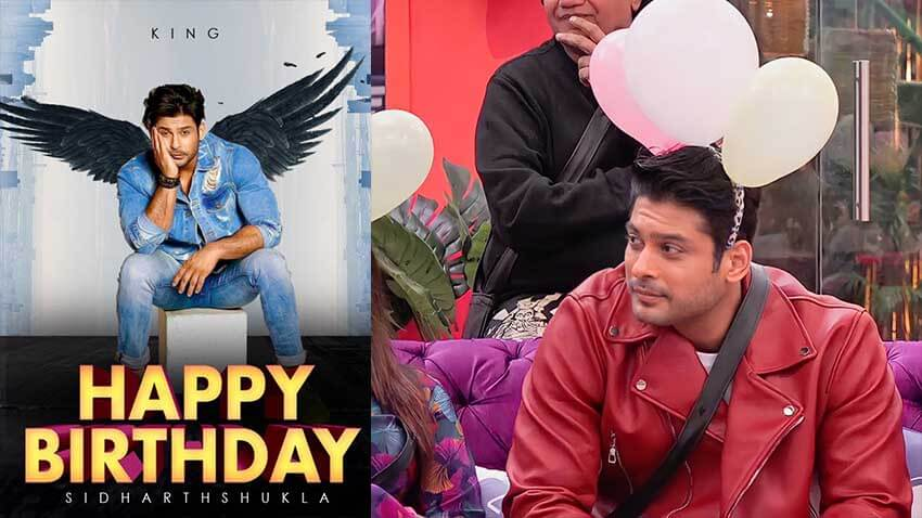 sidharth shukla birthday