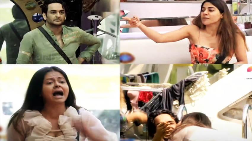 Bigg Boss 14 Nikki Tamboli Vikas Gupta Devoleena Bhattacharjee