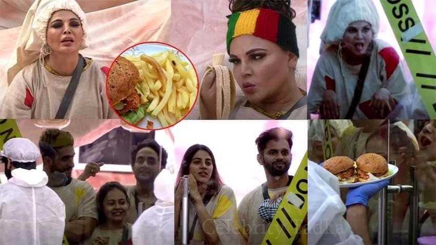 Bigg Boss 14 Rakhi Sawant Aly Goni Nikki Rahul Vaidya Devoleena