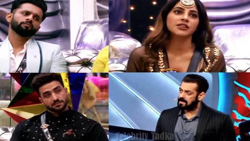Rahul Vaidya Aly Goni Nikki Tamboli bigg boss 14 salman khan