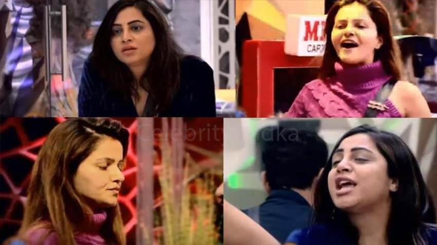 Rubina Dilaik Arshi Khan bigg boss 14