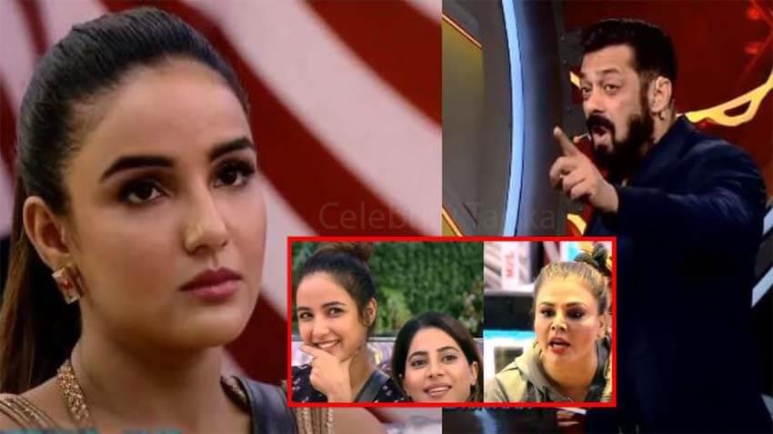 Salman Khan jasmin bhasin bigg boss 14