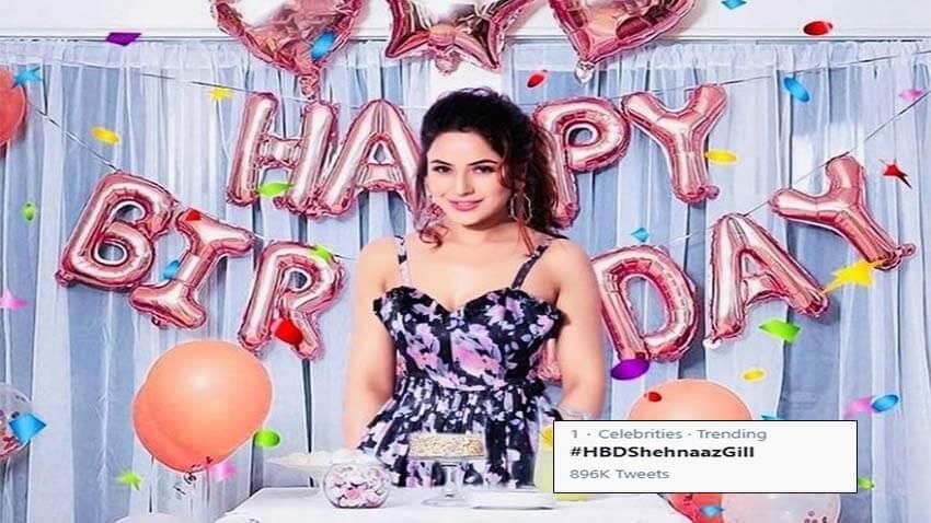 Shehnaaz Gill birthday