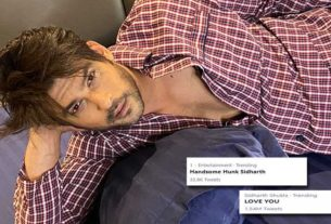 Sidharth Shukla in night suit