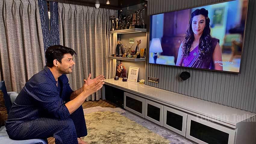 Sidharth Shukla praises Gauahar Khan in web show Tandav